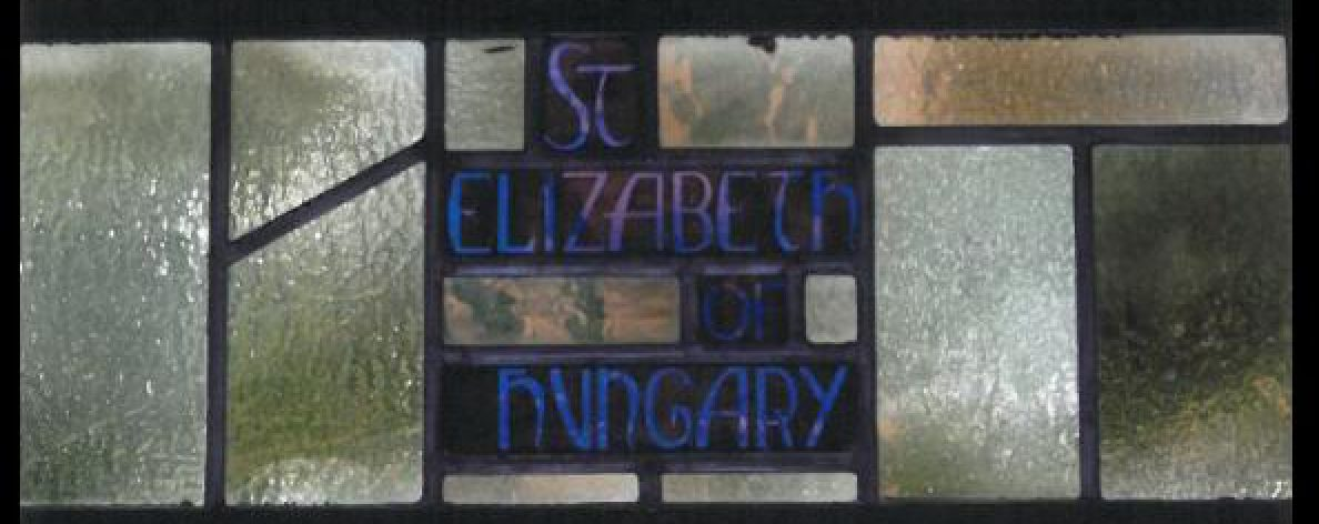 Window at St. Elizabeth Parish