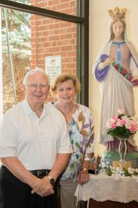 Deacon Snyder and Mrs. Snyder